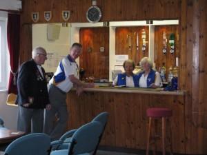 Welford Bowls Club bar area