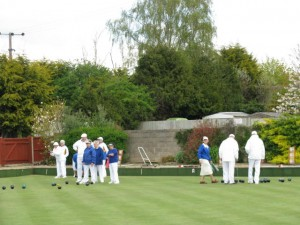 Welford Bowls Club outdoor green